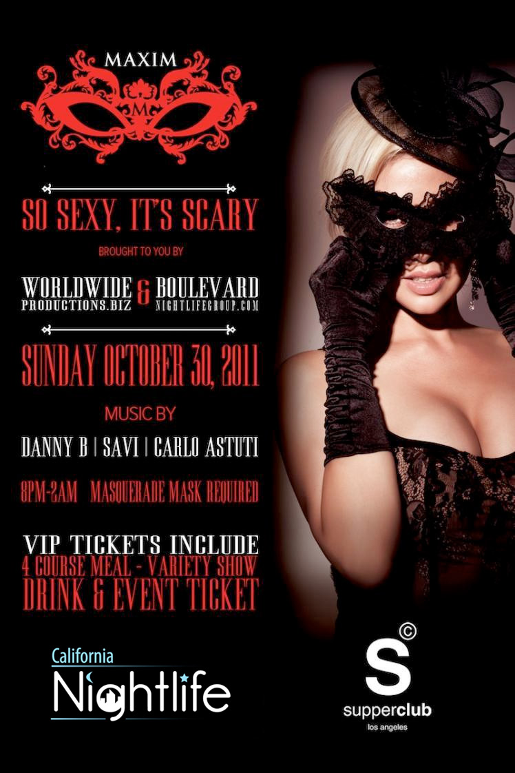 Halloween Guide 2011 – The Top 5 Parties in Los Angeles Ultra ...