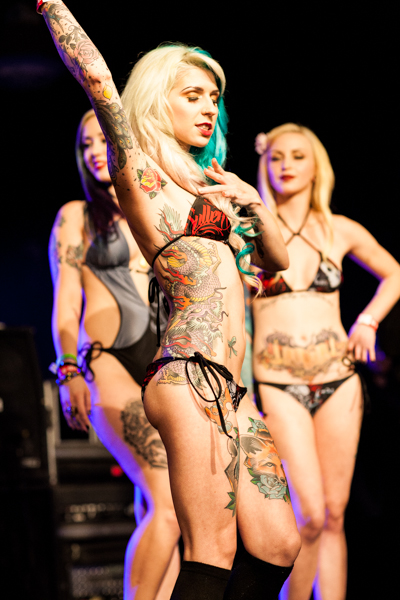 The Miss MusInk 2013 pageant.  ©PK Images 2013